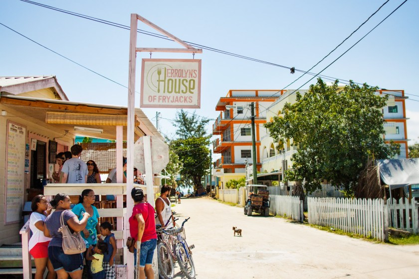 Errolyns House of Fry Jacks in Caye Caulker, Belize