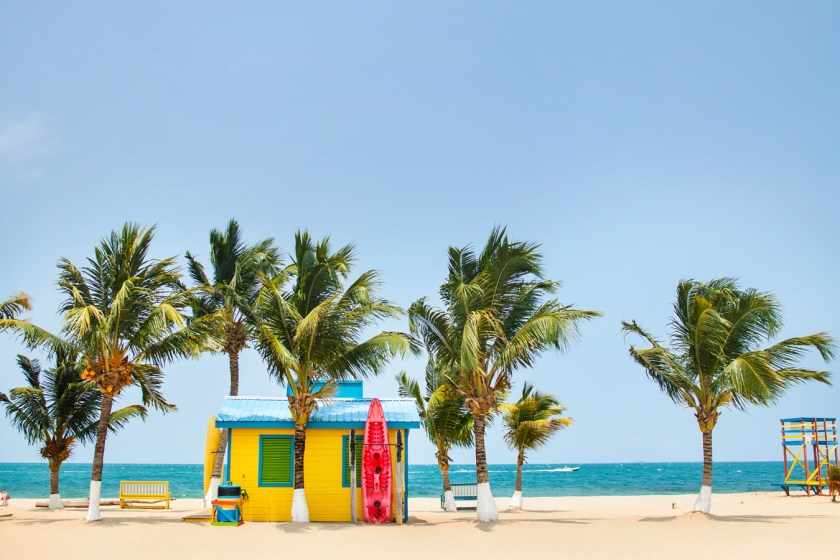 Placencia, Belize is full of color, charm, and great beaches