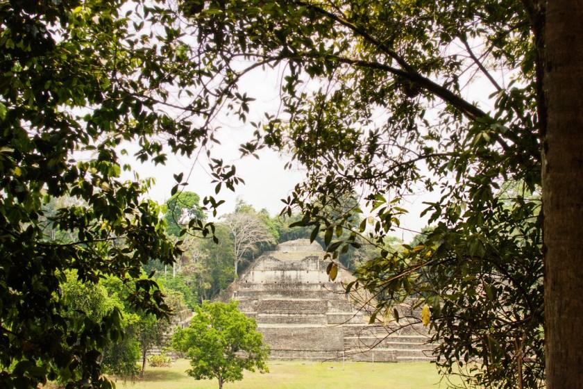 Caracol Maya ruin site - Belize