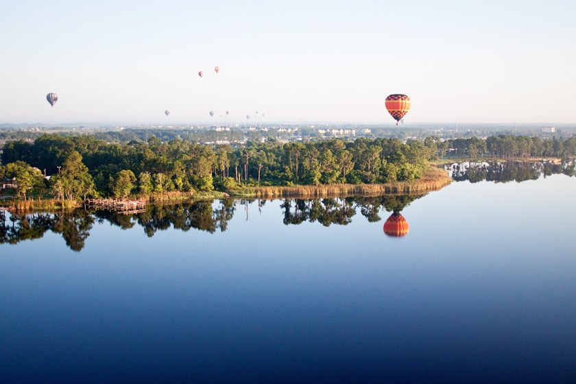 Bucket list: Hot air balloon ride - Orlando Florida