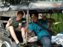 Matt in Tuk-Tuk
