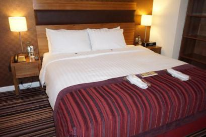 Bed at the Leopold Hotel Sheffield