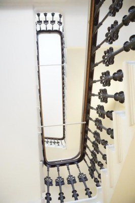 Victorian staircase in the Leopold Hotel Sheffield