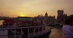 Seduced by Mumbai at sunset