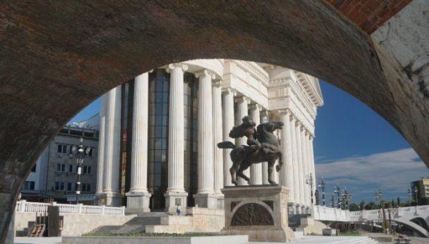 Skopje monuments, Macedonia