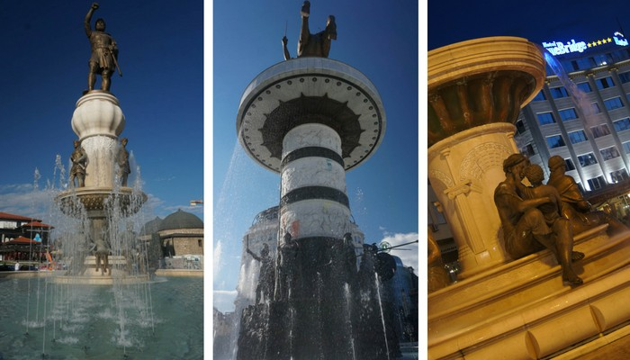 The Fountains of Skopje, Macedonia