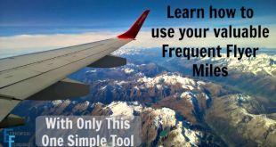 Use FlyerMiler to find the best airmile rewards