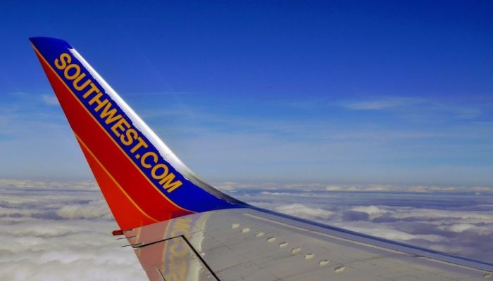 Southwest wing tip