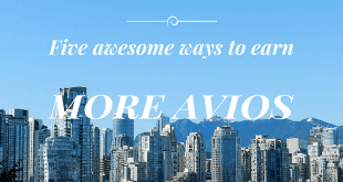 earn more AVIOS in Vancouver