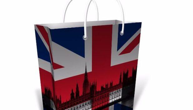 Shopping bag for in flight shopping