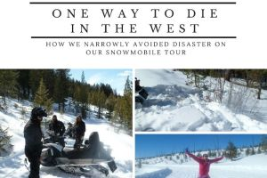 Just One Way to Die on a Snowmobile in the West