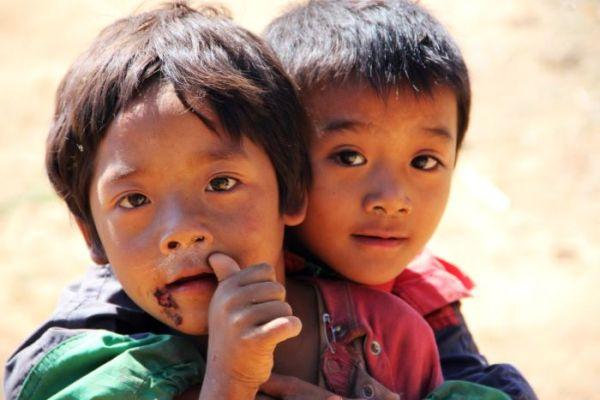 Poor children of Cambodia