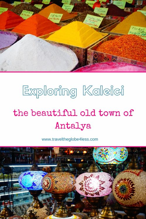 The old town of Antalya
