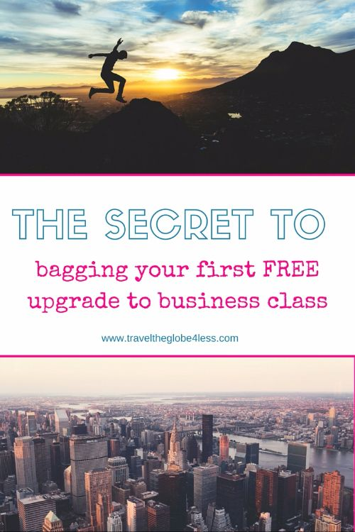 Upgrade to business class with this step by step guide