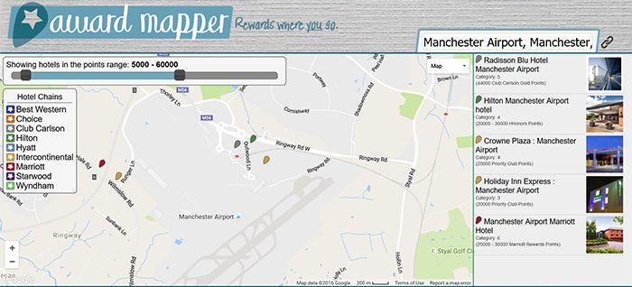 Awardmapper screenprint