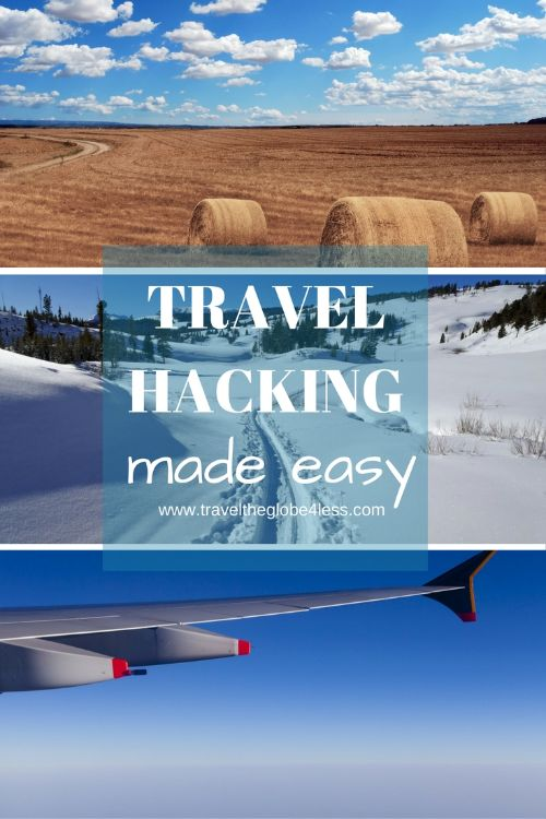 Travel, collect, redeem pinterest showing how to make travel hacking easy