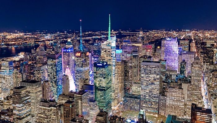 New York Skyline from above