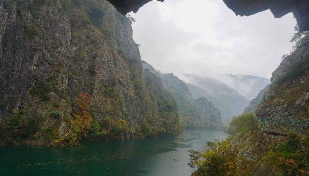 Matka Canyon, Skopje, Macedonia