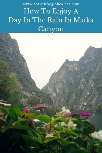 Matka Canyon pinterest
