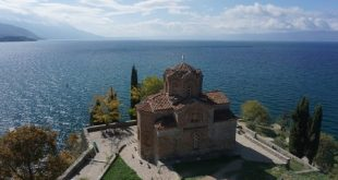 Church of St. John at Kaneo in Ohrid, Macedonia