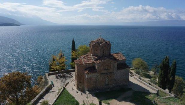 Church of St. John at Kaneo in Ohrid, Macedonia