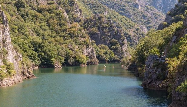 Matka Canyon views