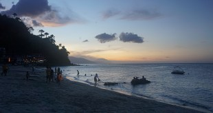 Sunset on White Beach, Mindoro