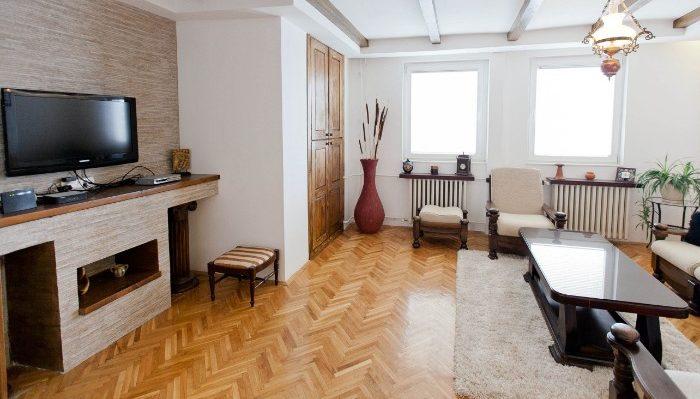Living room in Skopje apartment