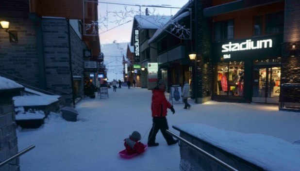 sledging in Levi
