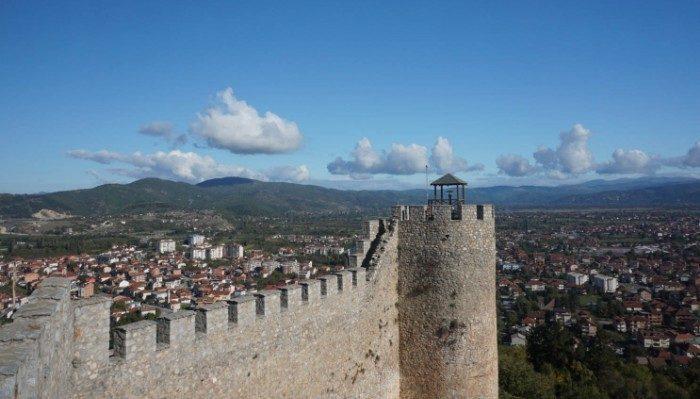 Views from Kale Fortress, Skopje, Macedonia