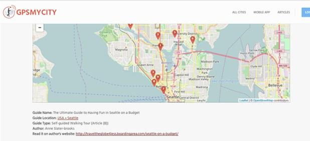 GPSmyCity offline map