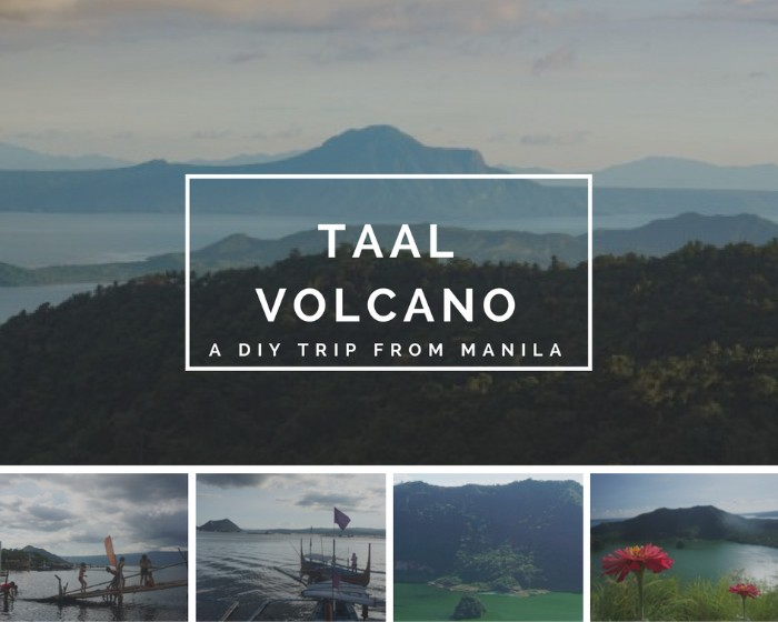 Taal volcano collage