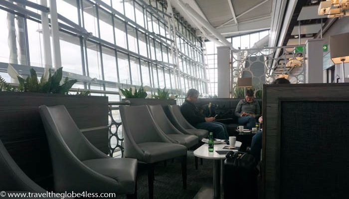 Aspire Lounge seating