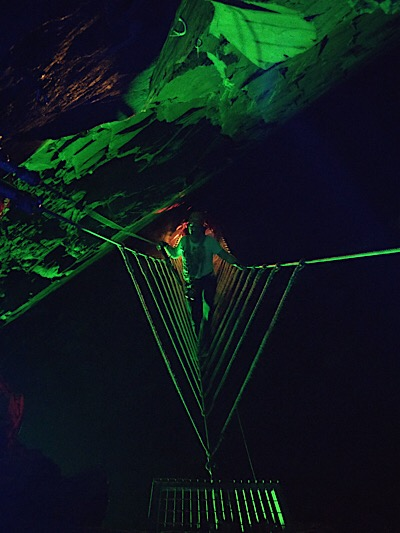 Lighting at Zipworld Caverns