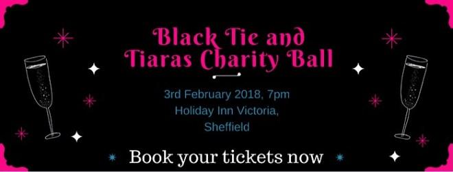 Black tie and tiaras