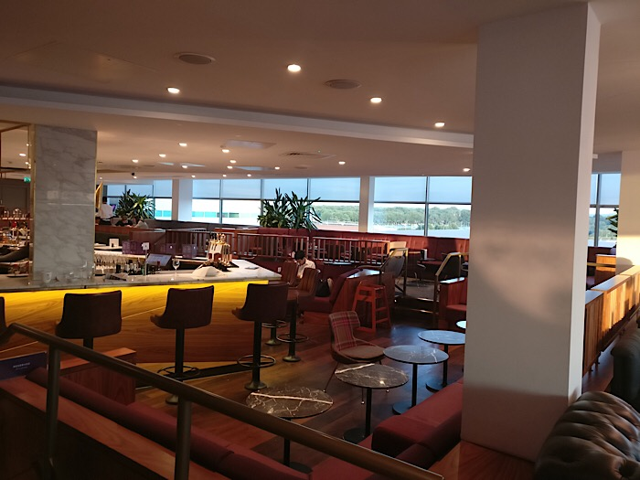 Bar in Gatwick airport Lounge