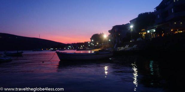Sunset at Djenovici, Montenegro