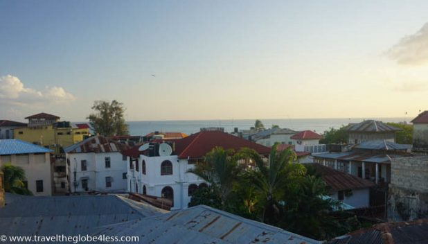 Doubletree Stonetown sunset views