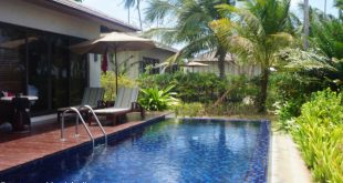 pool villa at the Residence