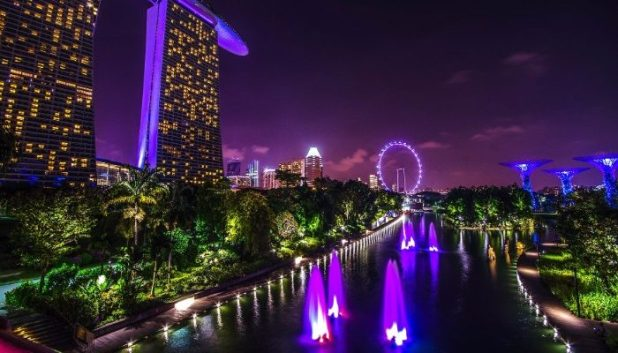 celebrate New Year's Eve in Singapore