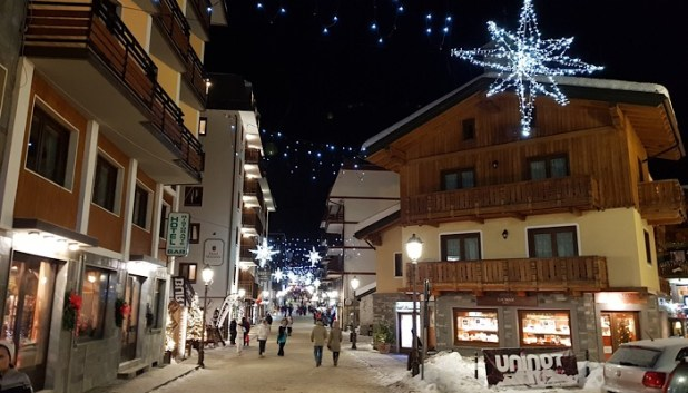 Cervinia village centre