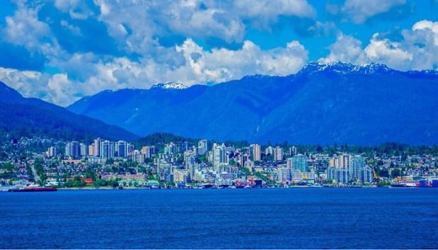 Vancouver mountain views