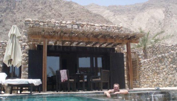 Private villa at Zighy Bay