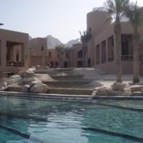 Resort pool at the Evason Hideaway Zighy Bay
