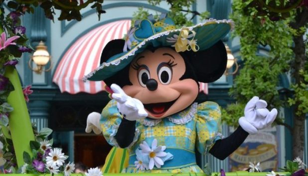 Minnie Mouse at Disneyland Paris