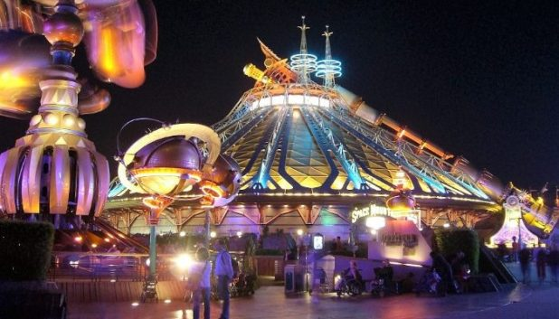 Hyperspace Mountains, Disneyland Paris