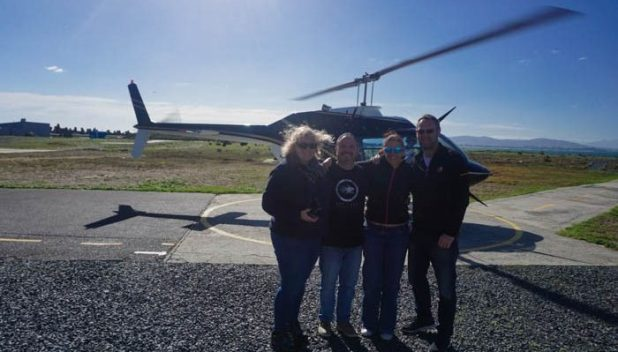 Michala, John, Me and Jason