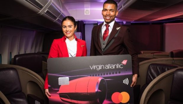 Virgin Airlines staff and credit card
