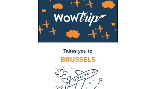 WowTrip unusual weekend breaks - Brussels reveal