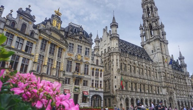 Grand Place views on our Brussels beer tour